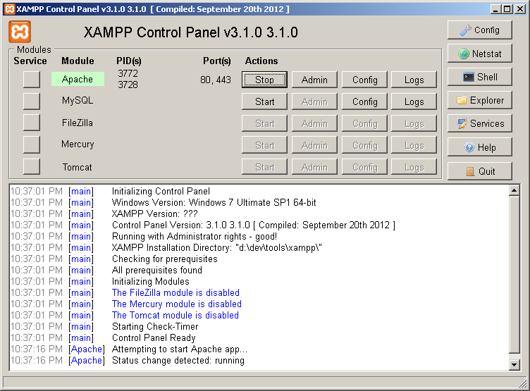How to Solve XAMPP Problem Port 80, 443 in Use by Skype | EL